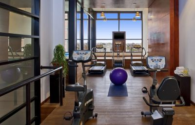 Sala spa/fitness Four Points by Sheraton Montevideo