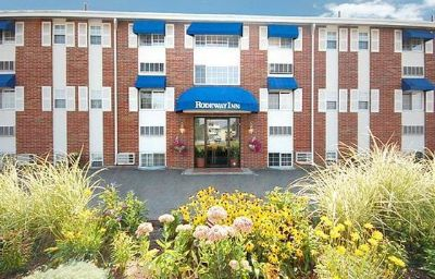 Exterior view Rodeway Inn Logan International Airport Revere (Massachusetts)