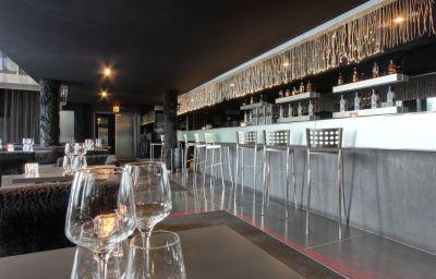 Bar de l'hôtel Kube