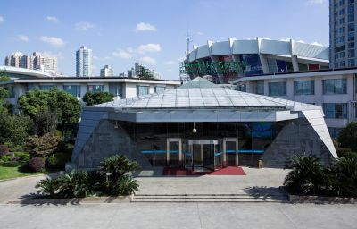 Vue extérieure Olympic Hotel Xujiahui