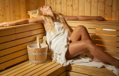 Sauna UNA Hotel One Sport & Beauty Design Hotel