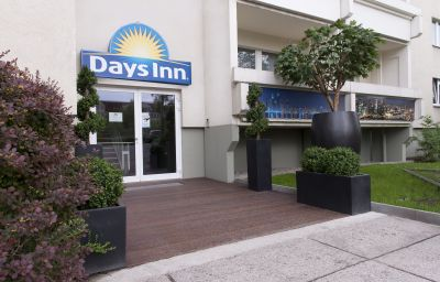 Фасад Days Inn City Centre Leipzig (Sachsen)