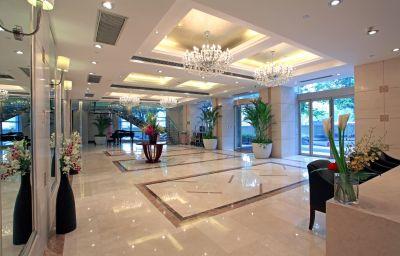 Vestíbulo del hotel CYTS Green Tree Eastern International Hotel (Former Howard Johnson Huaihai Hotel Shanghai)