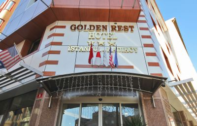 Exterior view Golden Rest Hotel Istanbul (İstanbul)