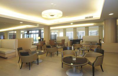 Bar de l'hôtel NH Linate