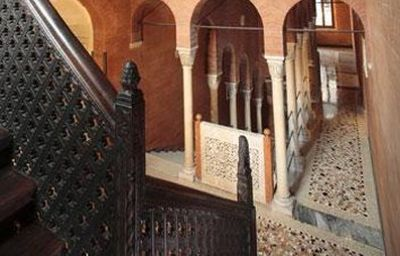 Vestíbulo del hotel Palazzo Stern