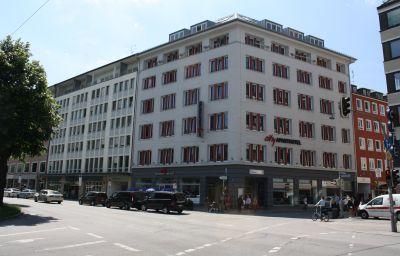 Vista esterna City Aparthotel