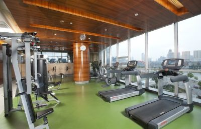 Fitness room Holiday Inn TIANJIN RIVERSIDE Tianjin (Tianjin Municipality)