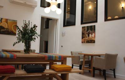 Salle du petit-déjeuner Eden Antwerpen