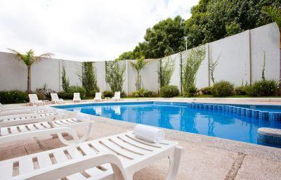 Swimming pool Holiday Inn URUAPAN