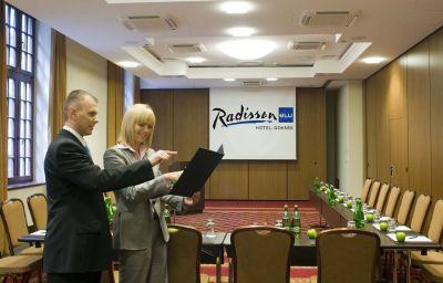 Conference room Gdansk Radisson Blu Hotel