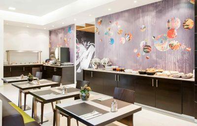 Restaurante/sala de desayunos Novotel Brussels Centre Midi Station