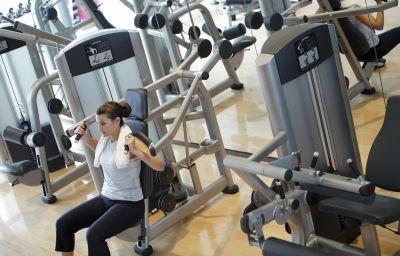Sala spa/fitness InterContinental SHANGHAI PUXI