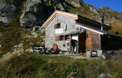 Appartement Mittlenberghütte - Binntal Alpinhütte