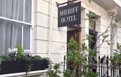 Outdoor view Sheriff Hotel London (England)