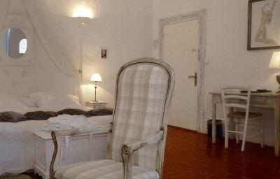 Chambre avec vue sur le jardin Manoir Le Roure & Spa