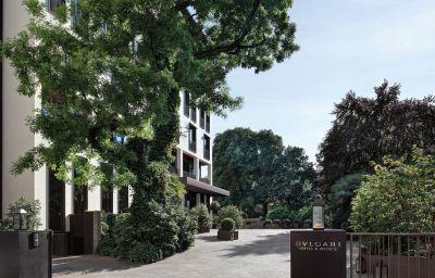 Exterior view Bulgari Hotels & Resorts Milano