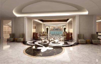 Hall de l'hôtel Conrad Makkah