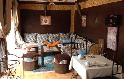 Salle du petit-déjeuner Riad Mille et une nuits