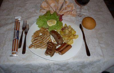 cuisine de l'hôtel La Pertica Hotel Residence