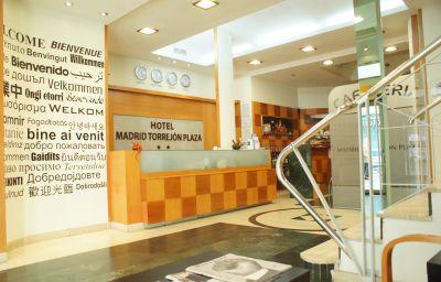Hol hotelowy Madrid Torrejón Plaza