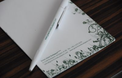 Certificado/logotipo Green Budapest