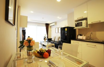 Chambre double (confort) Baan K Residence managed by Bliston Bangkok (Bangkok Metropolitan Region)