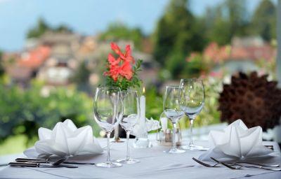 Restaurant/salle de petit-déjeuner Latemar