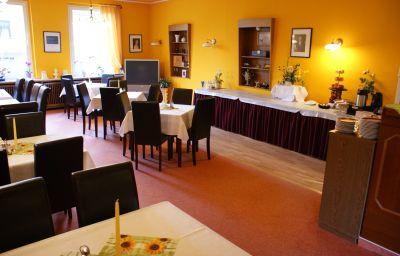 Restaurant/Frühstücksraum Hotel Villa Theresia mit Hallenbad