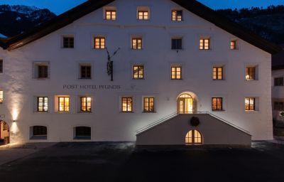 Vista exterior Posthotel Pfunds Pfunds (Tyrol)