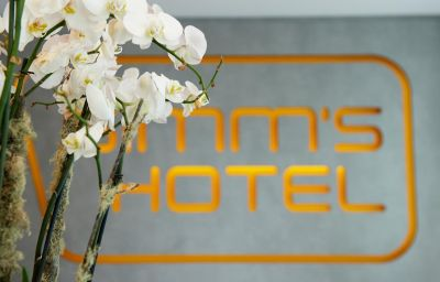 Innenansicht Simm's Hotel