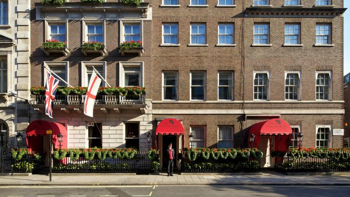 Exterior view The Chesterfield Mayfair Red Carnation Hotel