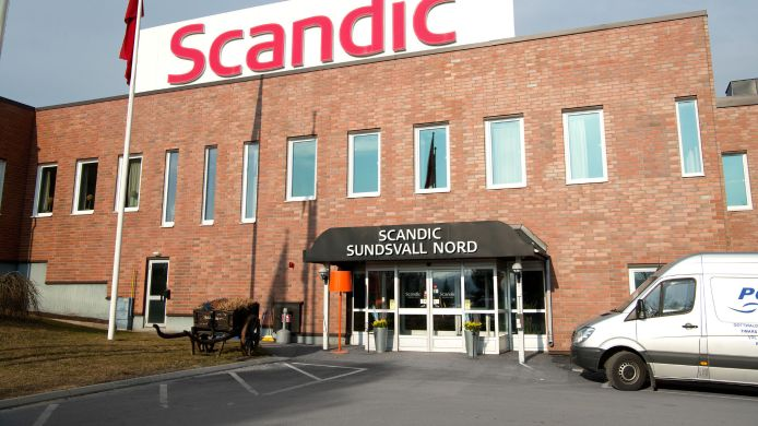 Exterior view SCANDIC SUNDSVALL NORTH