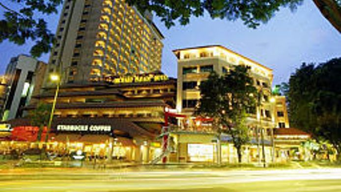 Exterior view Orchard Parade Hotel by Far East Hospitality