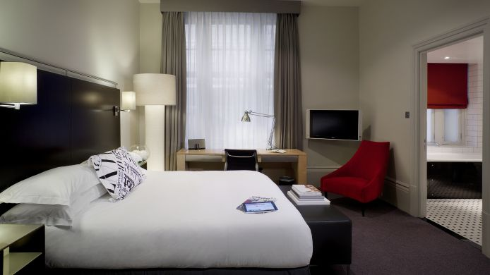 Double room (standard) Andaz London Liverpool Street A Concept by Hyatt