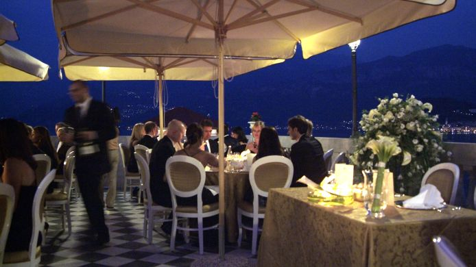 Terrace Grand Hotel Cadenabbia