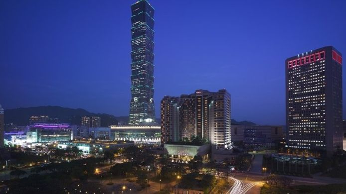 Exterior view Grand Hyatt Taipei