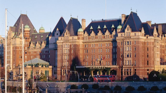 Exterior view Fairmont Empress