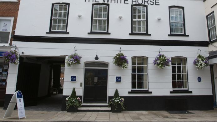 Exterior view The White Horse Hotel & Brasserie
