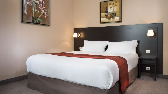 Chambre double (standard) Hotel Chatillon