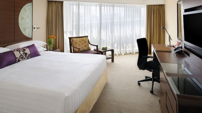 Single room (standard) Marina Mandarin Singapore