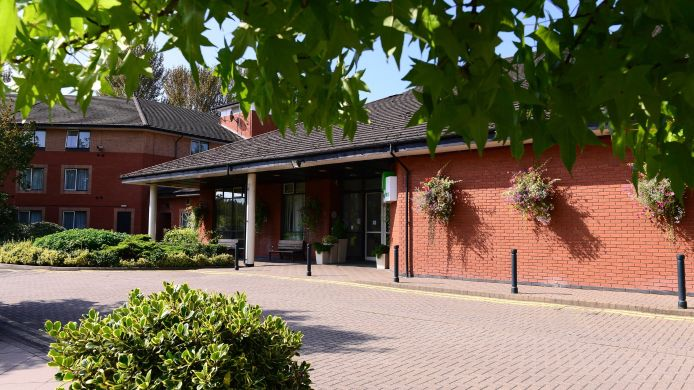 Buitenaanzicht Holiday Inn TELFORD - IRONBRIDGE