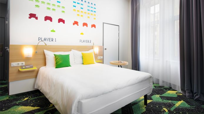 Double room (standard) ibis Styles Budapest Center