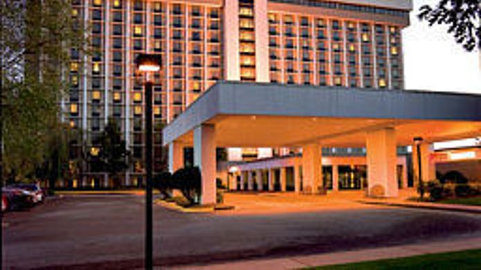 Buitenaanzicht Atlanta Airport Marriott