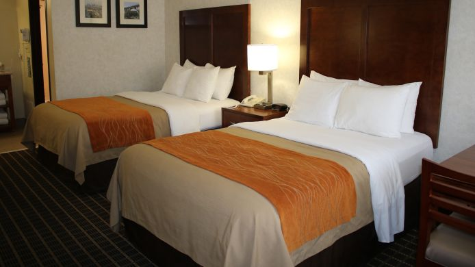 Double room (standard) Comfort Inn Near Old Town Pasadena