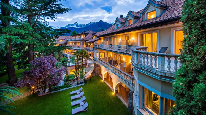 Vista exterior Villa Eden Leading Park Retreat Small Luxury Hotels of the World
