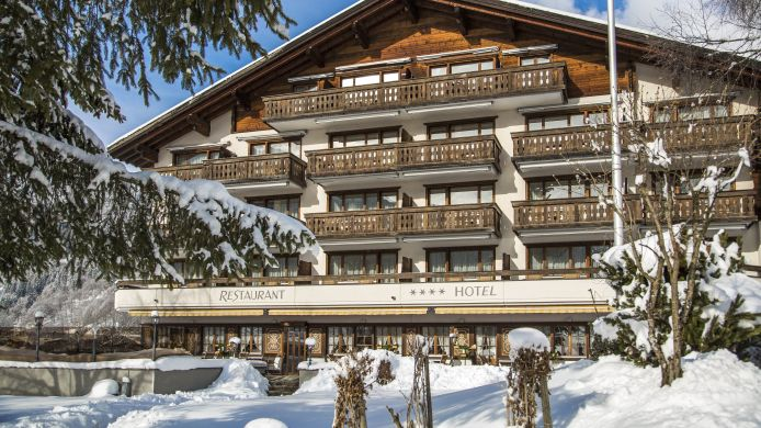 Exterior view Sunstar Boutique Hotel Albeina Klosters