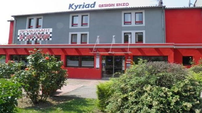 Exterior view Kyriad Design ENZO PONT A MOUSSON