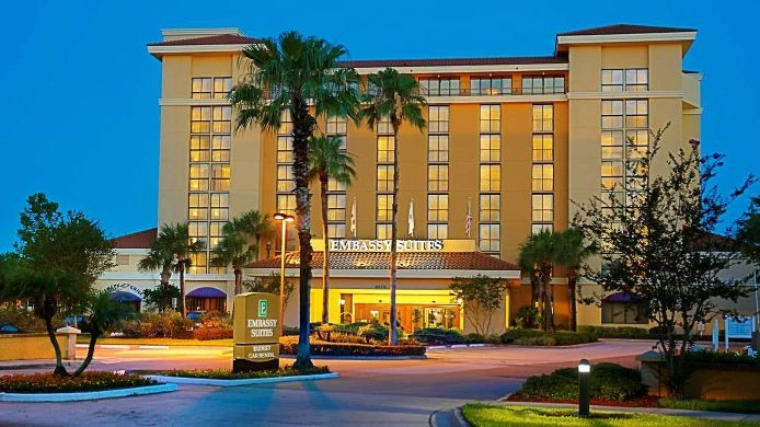 Exterior view Embassy Suites by Hilton Orlando-Int*l Drive-Convention Ctr