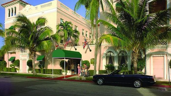 Buitenaanzicht CHESTERFIELD HOTEL PALM BEACH